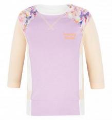 Джемпер Lucky Child Тропический рай, цвет: фиолетовый ( ID 2757692 )