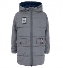 Купить пальто boom, цвет: серый 3507114