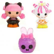 Купить lalaloopsy tinies 534211 лалалупси малютки уп-ка из 3 шт- мим, маскарад, кролик
