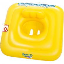 Купить плотик для плавания c сиденьем и спинкой swim safe, ступень a, bestway ( id 5486878 )