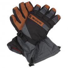 Купить перчатки сноубордические dakine nova glove carbon серый,черный,коричневый 1190195