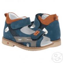 Купить сандалии bebetom, цвет: синий ( id 11658388 )