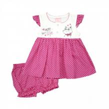 Купить nannette комплект для девочки (платье и шорты) 14-2980 14-2980