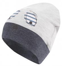 Купить шапка kiki kids маленький друг, цвет: серый ( id 8228077 )