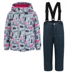Купить комплект куртка/брюки ma-zi-ma by premont кошачья лапка, цвет: серый ( id 6640129 )
