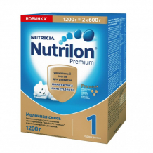 Купить nutrilon молочная смесь премиум 1 pronutriplus 0-6 мес. 1200 г 125172