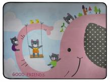 Купить porolon детский коврик лучшие друзья rw555111