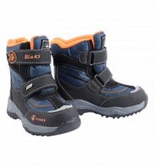 Купить сапоги bi&ki, цвет: оранжевый/синий ( id 7717099 )