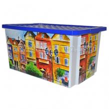 Купить полимербыт ящик для хранения игрушек optima 57 л 2586bq