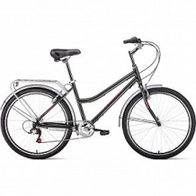 Купить двухколесный велосипед forward barcelona air, цвет: серый ( id 12065422 )