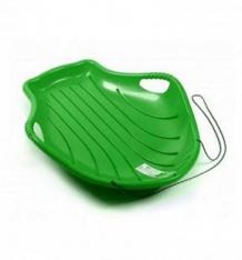 Купить ледянка пластик снежный скат, цвет: зеленый ( id 10190277 )