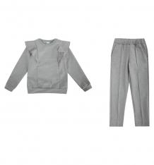 Купить комплект джемпер/брюки newborn, цвет: серый ( id 10158312 )