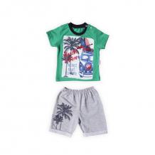 Купить комплект футболка/шорты bidirik, цвет: зеленый 854