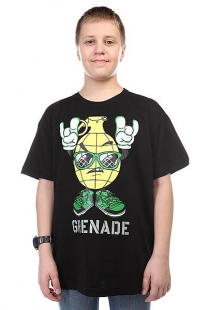 Футболка Grenade Rock On Black/Yellow черный ( ID 1108813 )