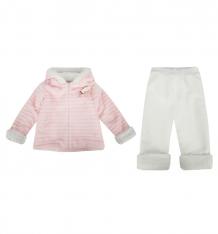 Купить комплект толстовка/брюки папитто, цвет: бежевый ( id 9979002 )