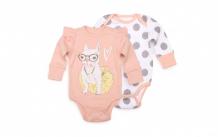 Купить happy baby боди длинный рукав 90027 2 шт. 90027