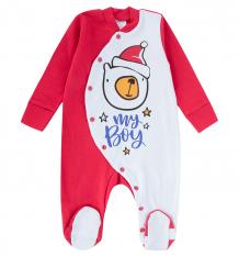 Купить комбинезон newborn новый год, цвет: красный/белый ( id 10145934 )