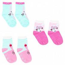 Купить носки yo!, цвет: розовый/голубой ( id 12044212 )