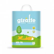 Купить подгузники lovular giraffe nb 0-4 кг, 76 шт lovular 997137097