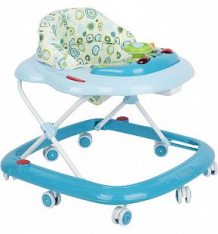 Купить ходунки capella bg-0611, цвет: голубой/бежевый ( id 140449 )