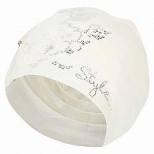 Купить шапка levelpro kids цветок пайетки, цвет: бежевый/белый ( id 10458599 )