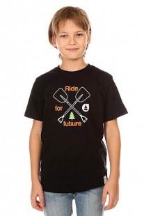 Футболка детская Picture Organic Shovel Black черный ( ID 1132441 )