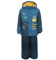 Купить комплект куртка/полукомбинезон peluche&tartine, цвет: синий ( id 402468 )