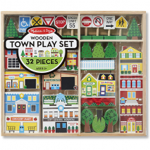 """Купить набор melissa & doug """"деревянные игрушки"""", город ( id 11154460 )"""