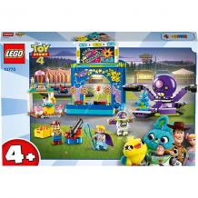 Купить конструктор lego toy story 4 10770: парк аттракционов базза и вуди 10620649