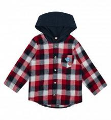 Рубашка Leader Kids Лига 91, цвет: серый/красный ( ID 9096193 )
