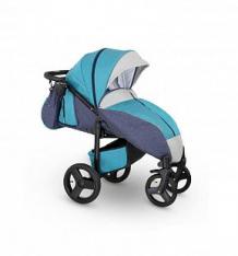 Купить прогулочная коляска camarelo elf, цвет: голубой джинс/серый ( id 10053513 )