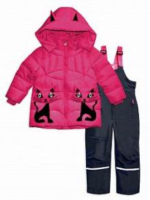 Купить комплект пуховик/брюки me&we, цвет: розовый ( id 11696632 )