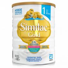 Купить similac молочная смесь 1 gold с 0 до 6 мес. 800 г 539152305812