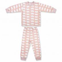 Купить пижама джемпер/брюки leo разноцветье. медвежонок, цвет: розовый ( id 12614572 )