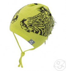 Купить шапка huppa, цвет: зеленый/серый ( id 3360008 )
