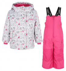 Купить комплект куртка/полукомбинезон gusti boutique, цвет: серый ( id 6493555 )