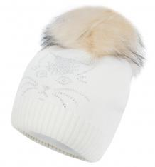 Купить шапка fun time, цвет: белый 13a-13151