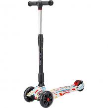 Купить двухколесный самокат moby kids со светящимися колесами ( id 8317127 )
