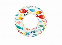 Купить надувной круг intex lively 51 см в ассортименте, 5х51 ( id 186927 )