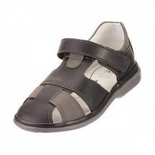 Купить сандалии топ-топ, цвет: черный/серый ( id 12506668 )