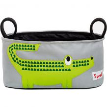 Сумка-органайзер для коляски Крокодил (Green Crocodile), 3 Sprouts ( ID 5098252 )