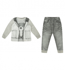 Купить комплект кофта/брюки папитто fashion jeans, цвет: серый ( id 6069751 )
