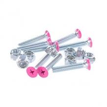 Купить винты для лонгборда penny deck bolts pink phillips 1 1/8 розовый