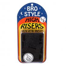 Купить подкладки для скейтборда bro style 1/2 high risers черный ( id 1064907 )