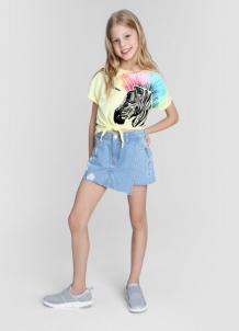 Купить джинсовая юбка-шорты