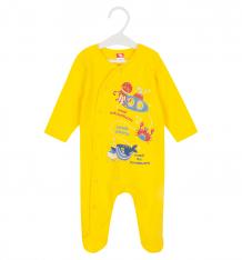 Купить комбинезон cherubino, цвет: желтый ( id 8642653 )