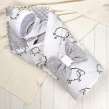 Купить супермамкет конверт-одеяло овечки (демисезон) konv/овечки