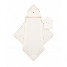 "Купить полотенце-уголок и рукавичка-мочалка ""медвежонок"" mothercare 4023607"