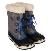 Купить сапоги зимние детские sorel yoot pac nylon city grey черный,серый ( id 1164883 )