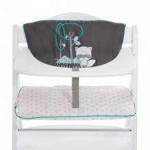 Купить hauck вкладыш в стульчик haigh chair pad deluxe forest fun 667545